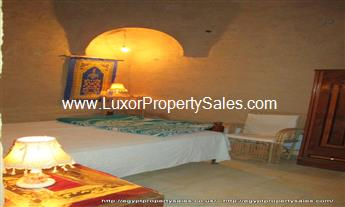 Compact domed 1 bedroom house apartment for rent in Luxor Gezira