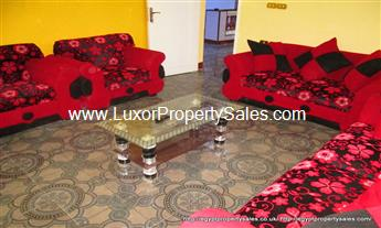 apartment for rent in Luxor with stunning views Gezira West bank