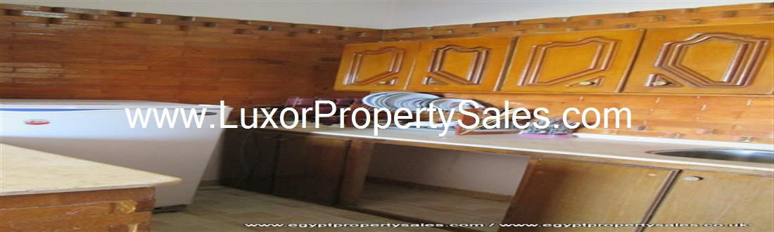 Beautifully furnished apartment for sale in Luxor West Bank Ramla