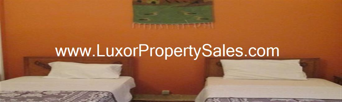 Ground floor 2 bedroom apartment Nile view & amazing roof garden