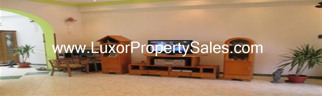 Wonderful three storey furnished villa for sale in Luxor East Bank Karnak